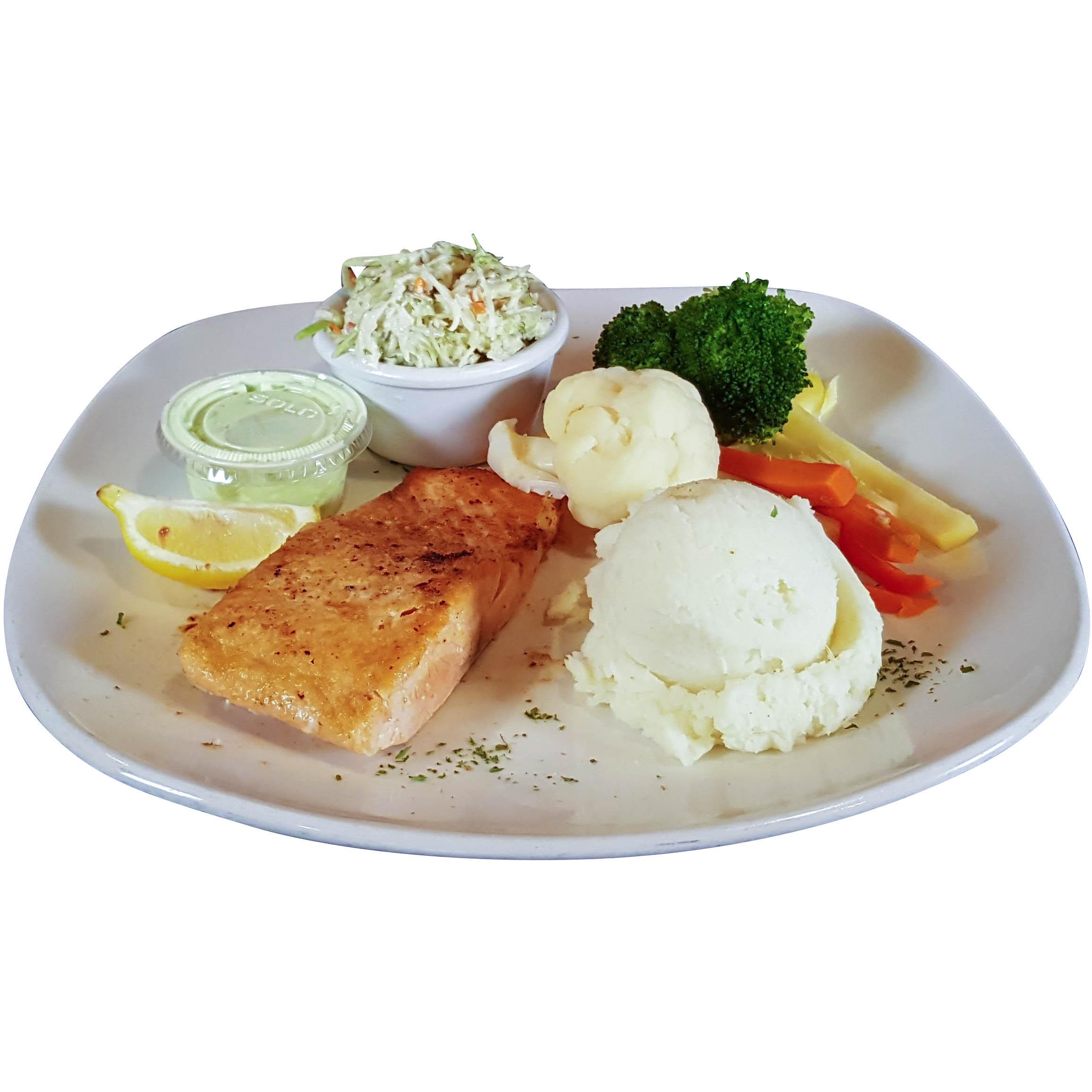 Filet de saumon Meunière
