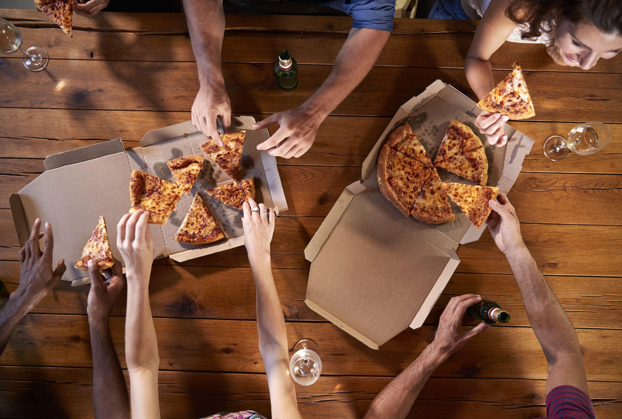 livraison gratuite à domicile de pizzas